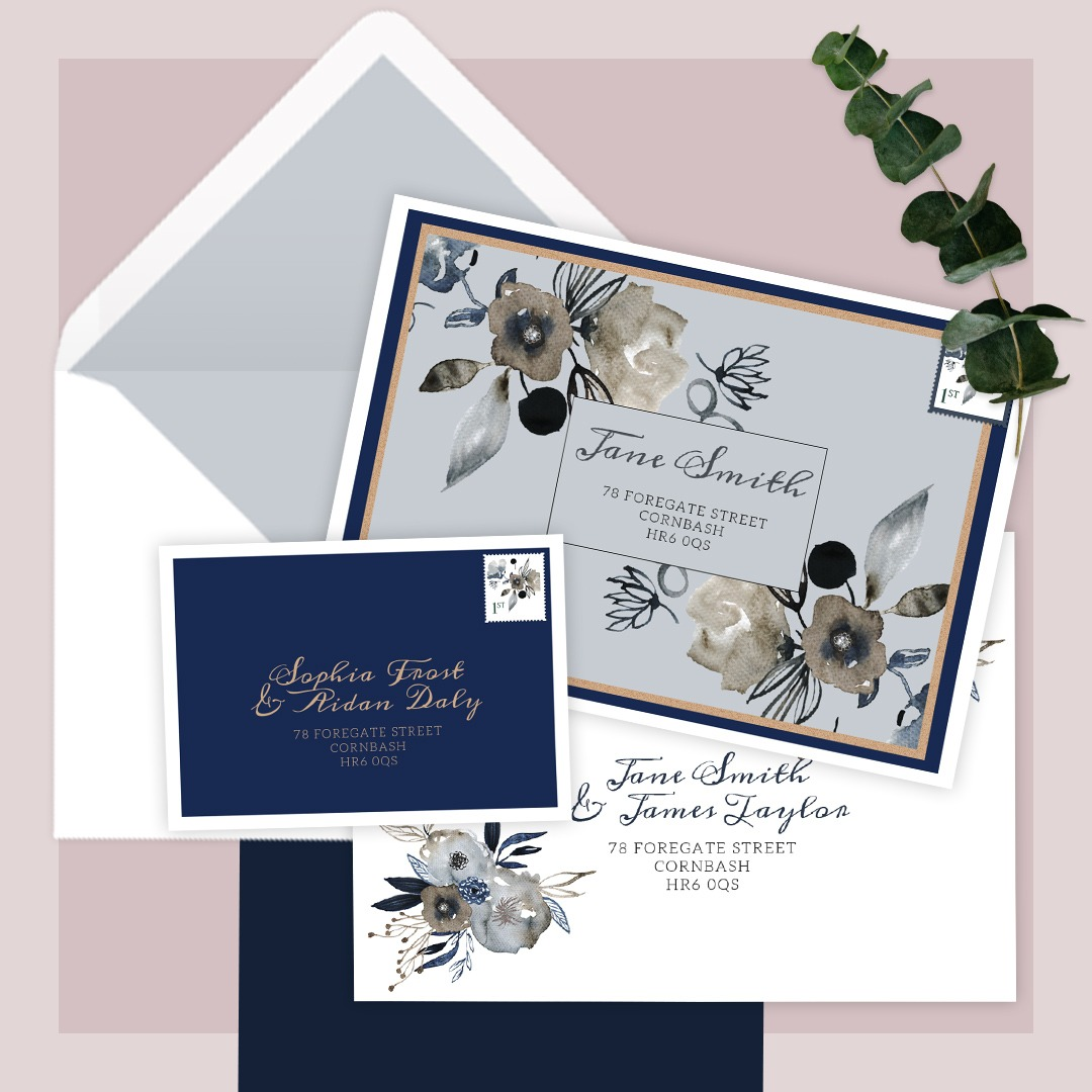 Printed envelopes and liners at Printed.com