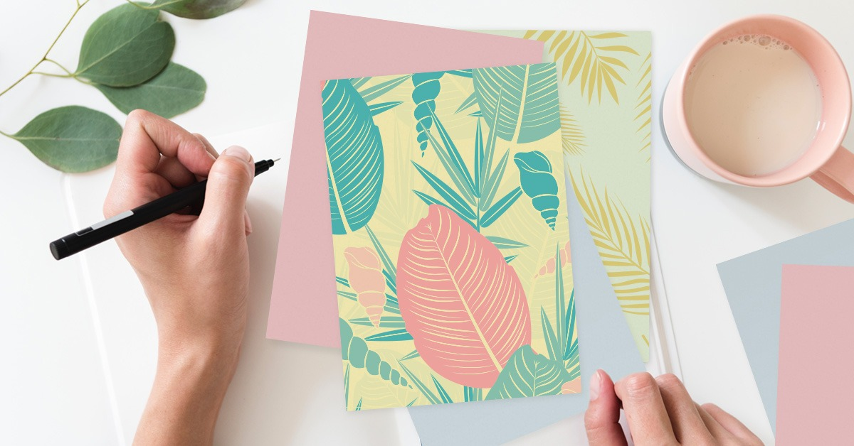create a greeting card colelction