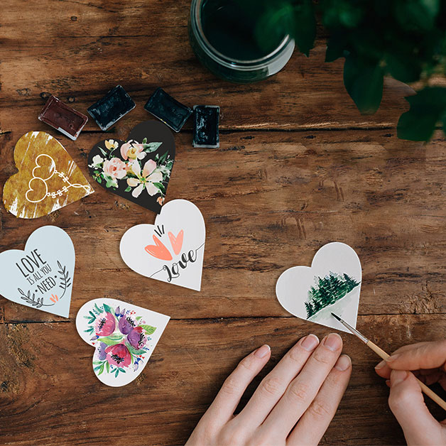 heart shaped sticker design contest