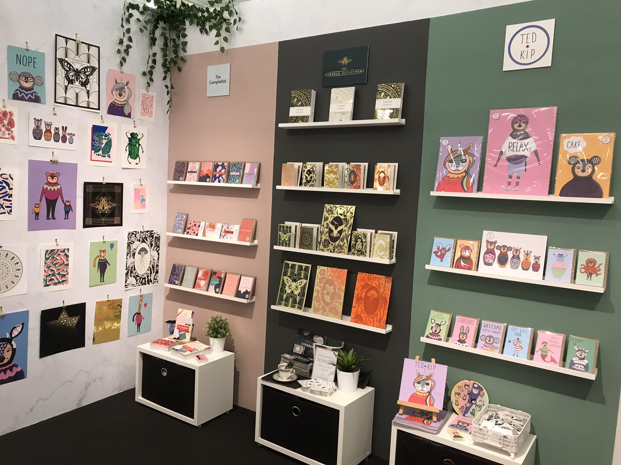 The Printed.com exhibition stand at Top Drawer S/S 18