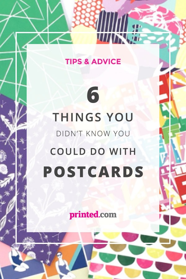 6 Things you didn't know you could do with postcards