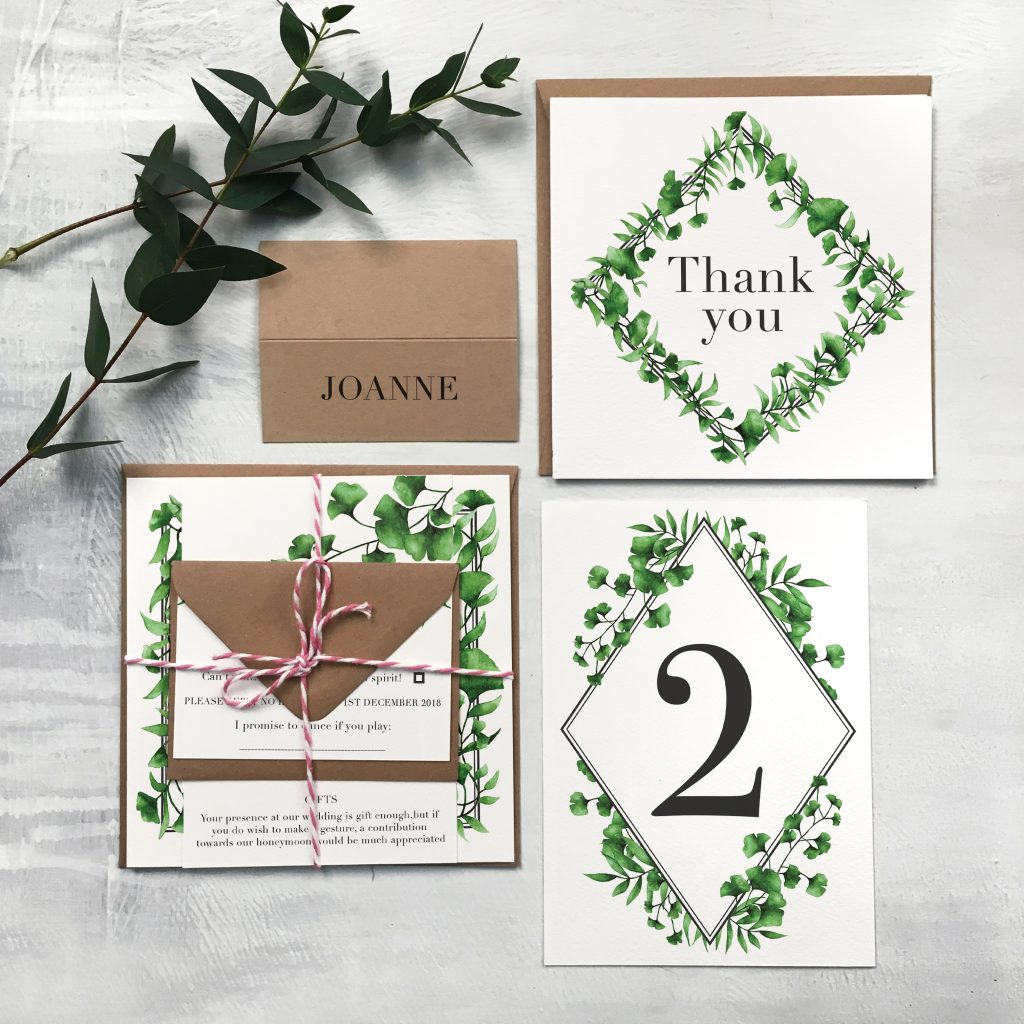 How to design wedding stationery