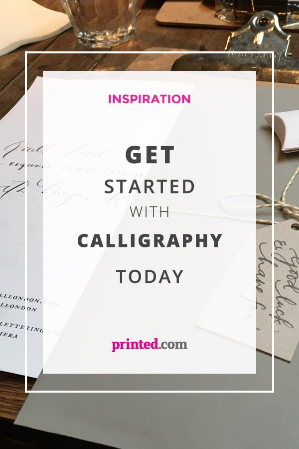 Get Started with Calligraphy