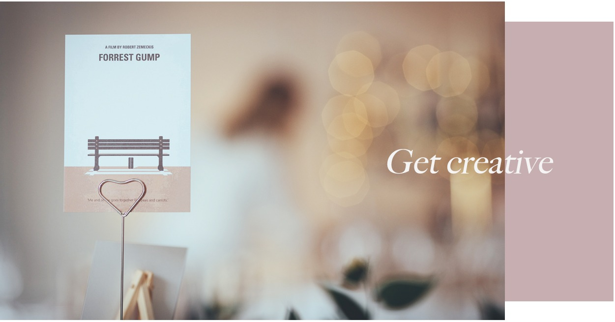Name your tables the easy way at printed.com with wedding print essentials for on the day