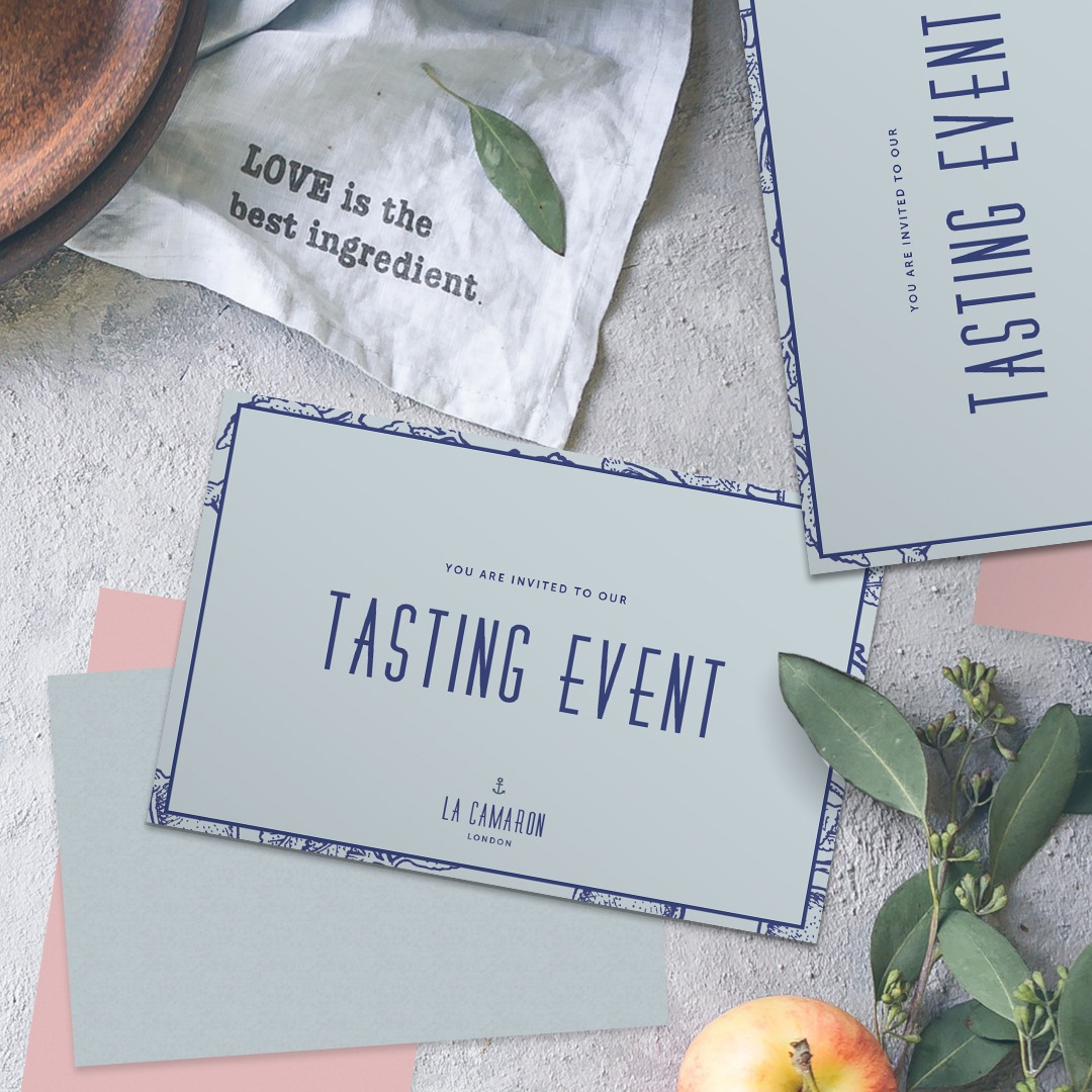 Pastel paper stock in cool blue
