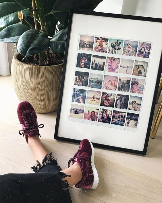Wedding photography polaroids