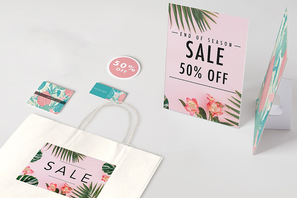 Sale essentials at printed.com