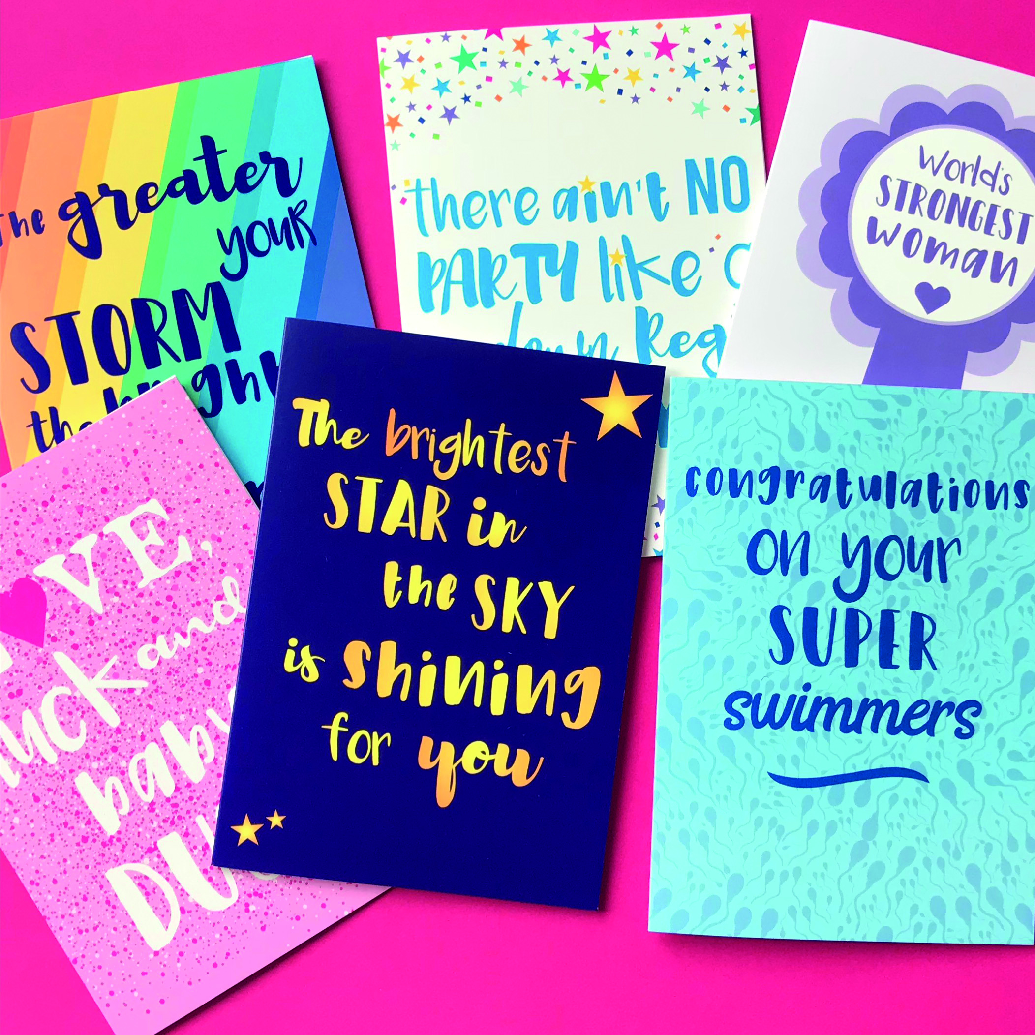 Ready and Unable IVF Greeting Cards