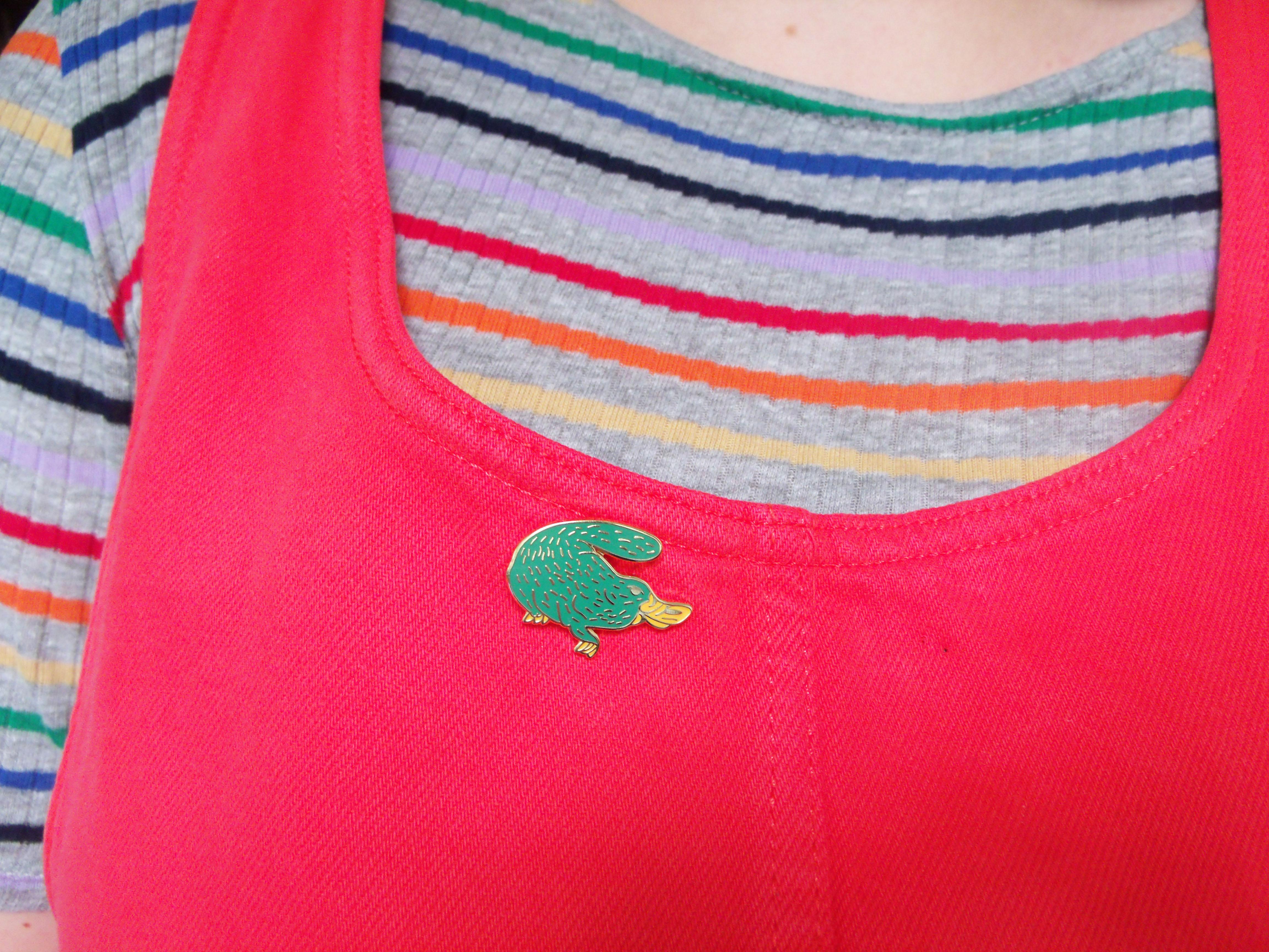 Pin badge by Sophie Heywood