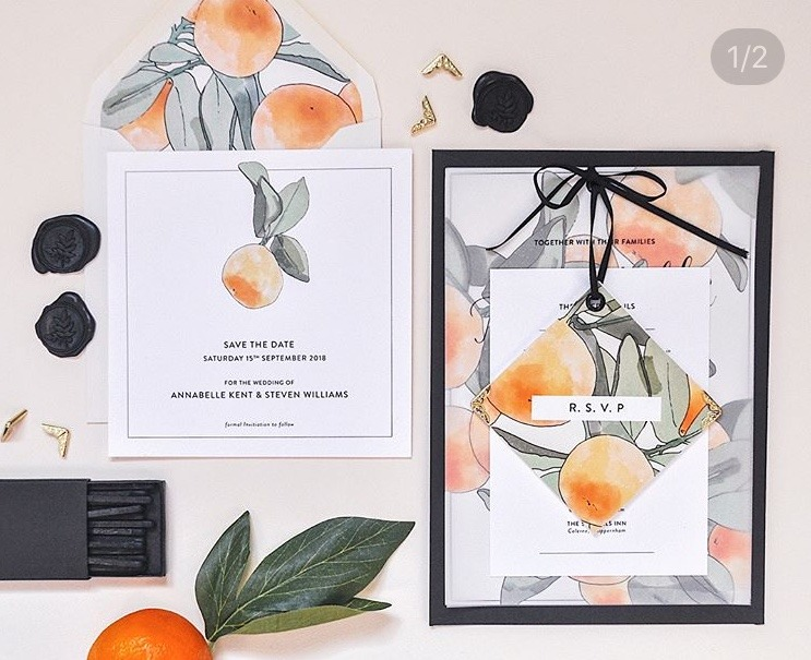 Pixel and Ink World Calligraphy Day wedding stationery set - Looking for easy and affordable ways to make your wedding stationery oh so Instagram-worthy? Whether you've been trawling social media, or you've seen some suites with the wow factor, there are a few things these eye-catching creations have in common – and we're here to explain how you can recreate your own.