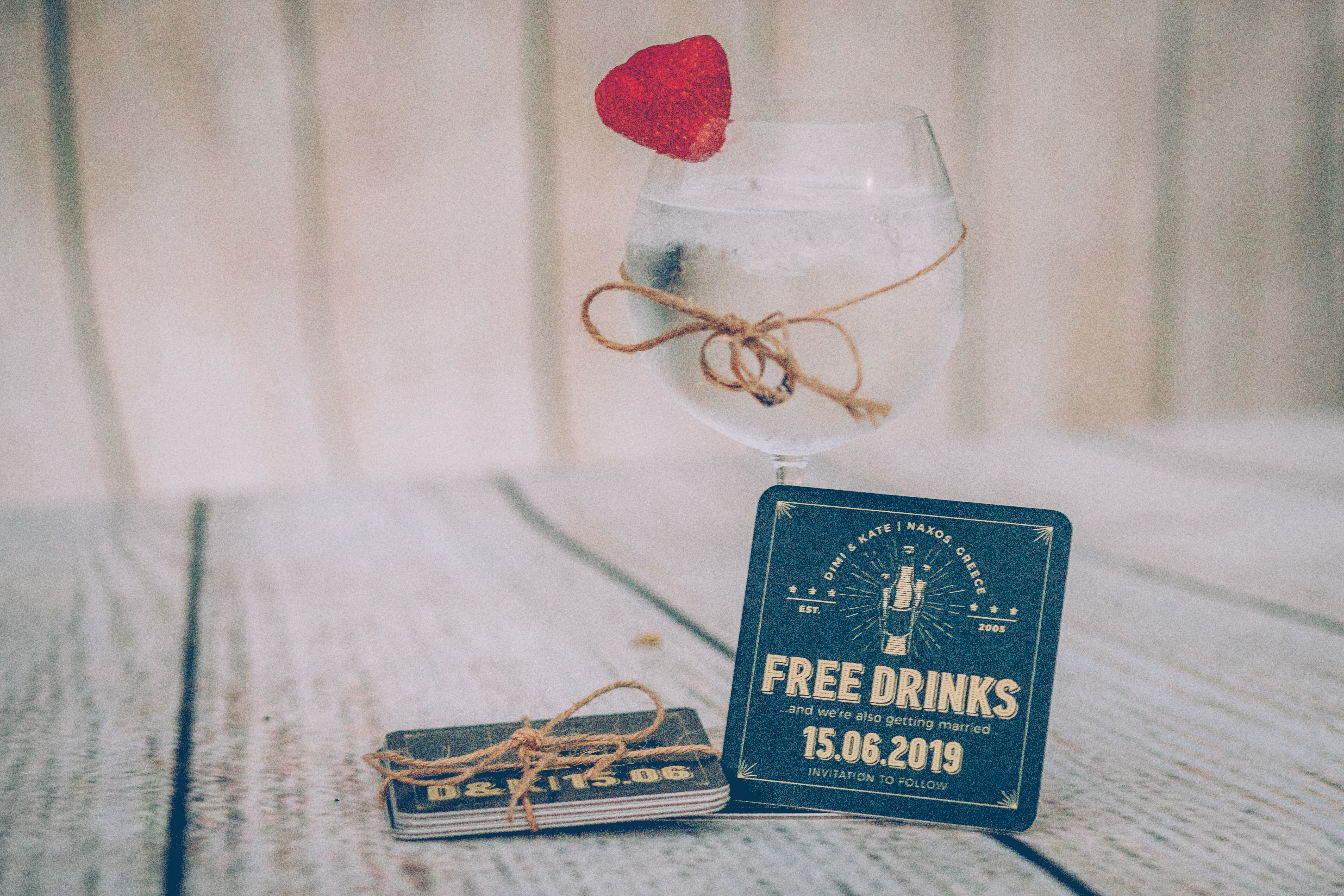 Bespoke coasters by Kate Stergiou
