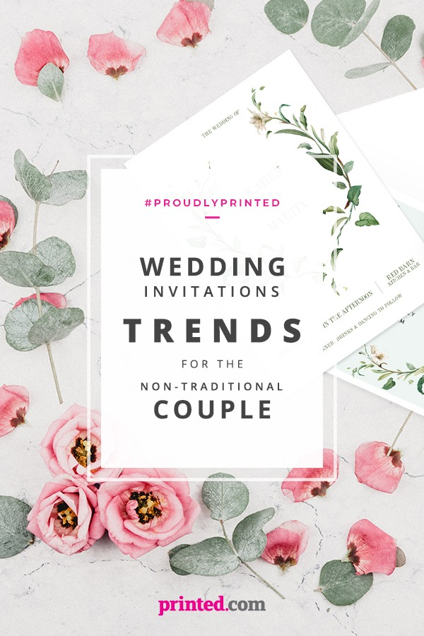 Wedding Invitation Trends For The Non Traditional Couple