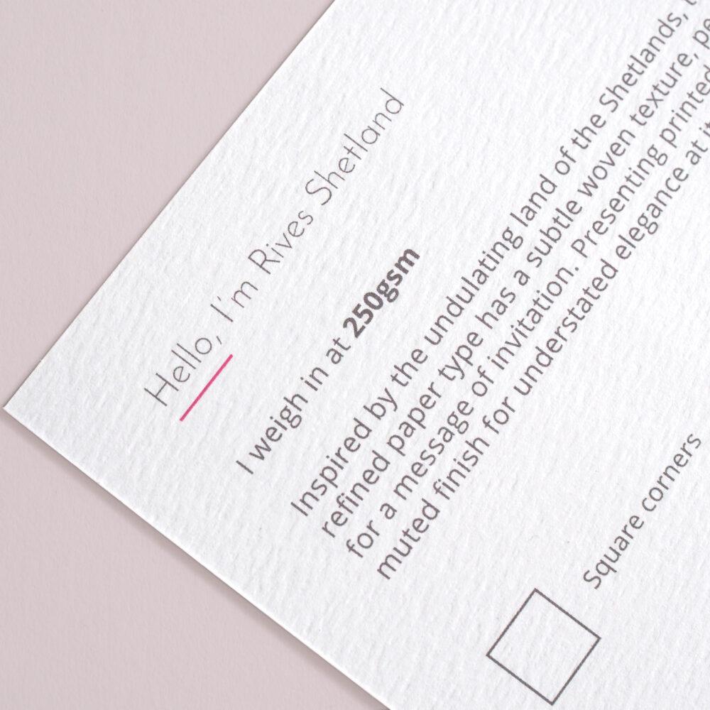 Buy textured Rives Shetland Paper stock