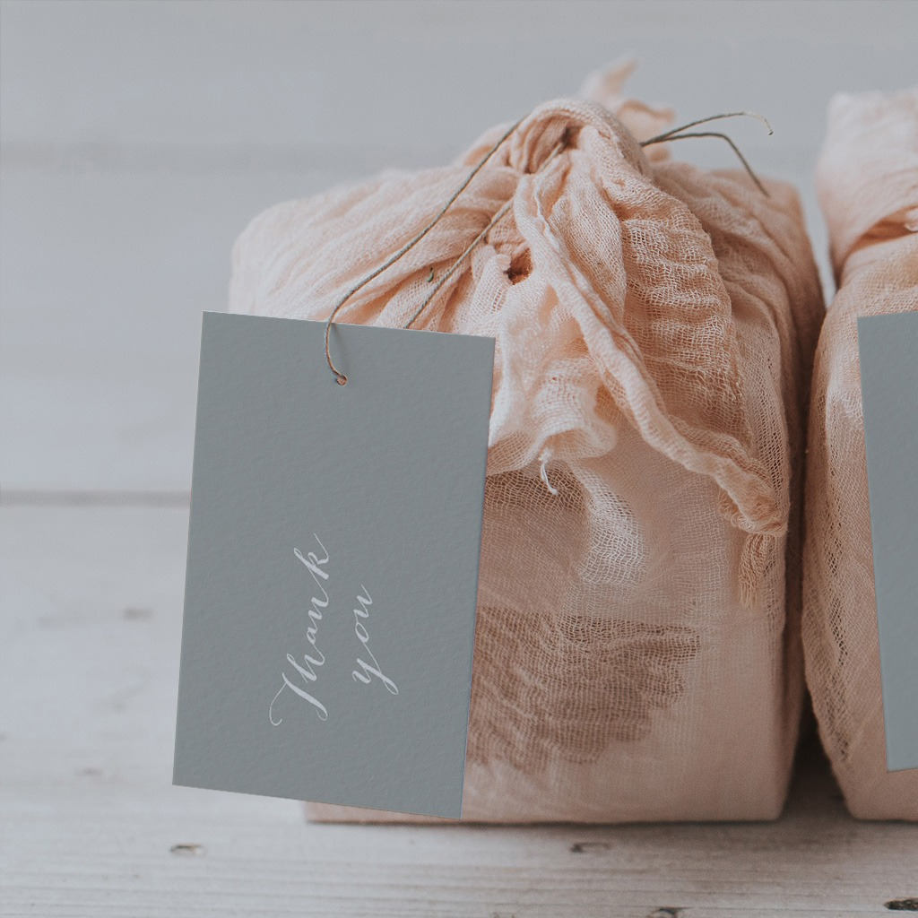 Luxury gift tags by Lilac and White