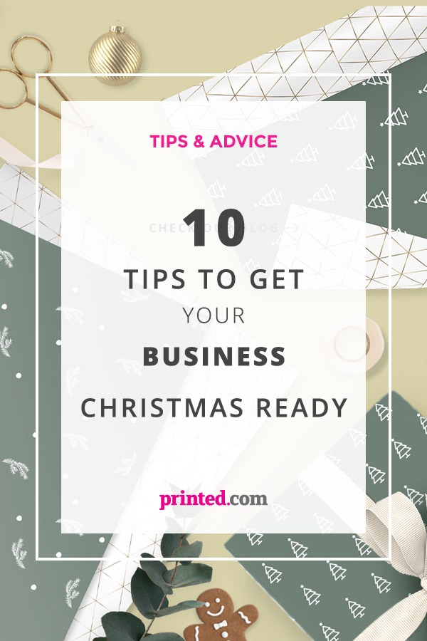 10 Tips to get your business Christmas ready