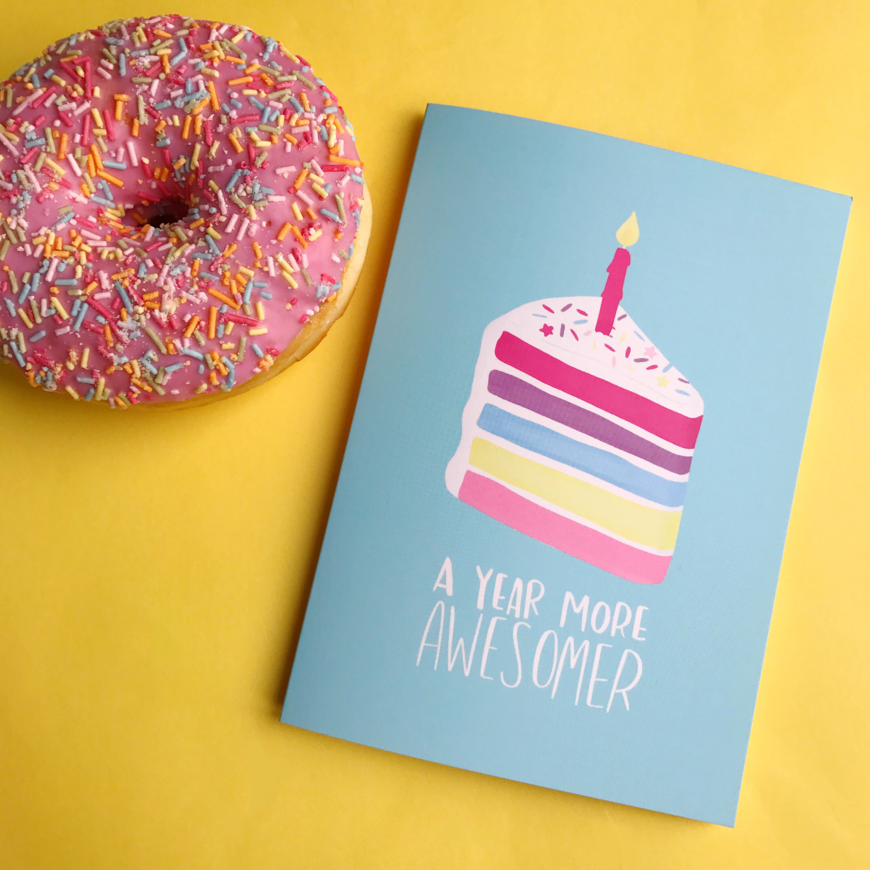 The GBBO Edition: Birthday Cards by Nutmeg and Arlo
