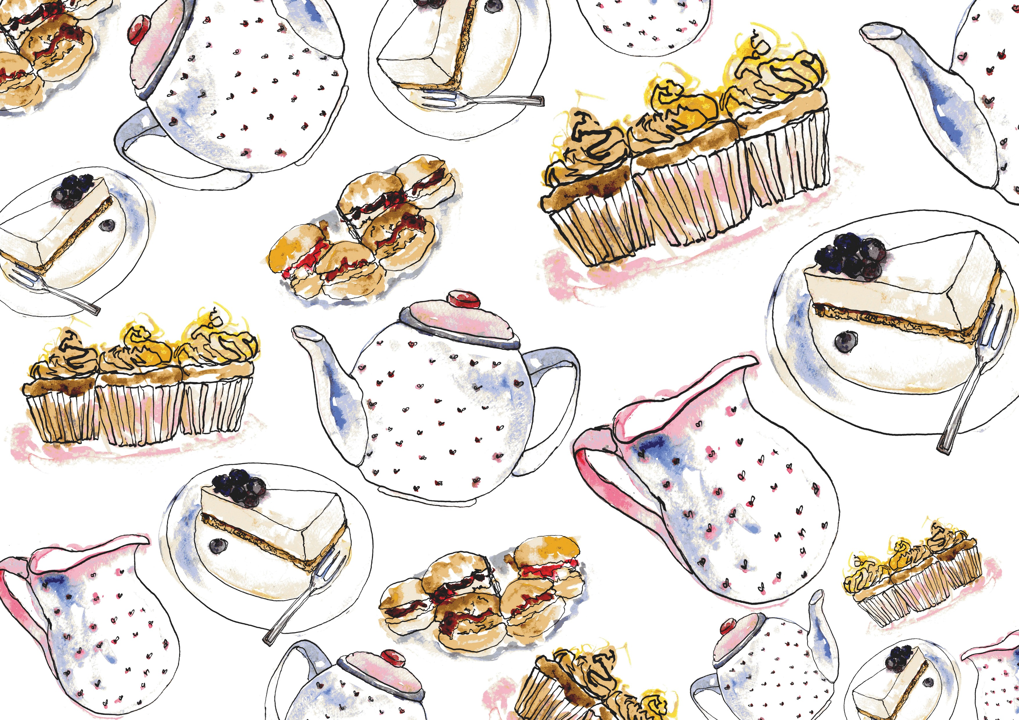 The GBBO Edition: CW Illustrations