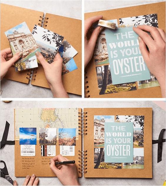 Scrapbook inspiration - Via Pinterest