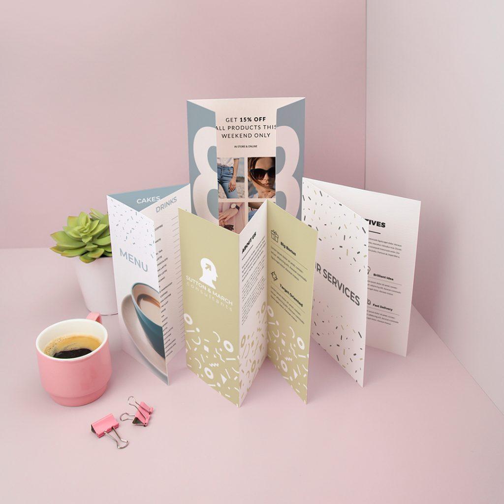 Shop Folded Leaflets at Printed.com