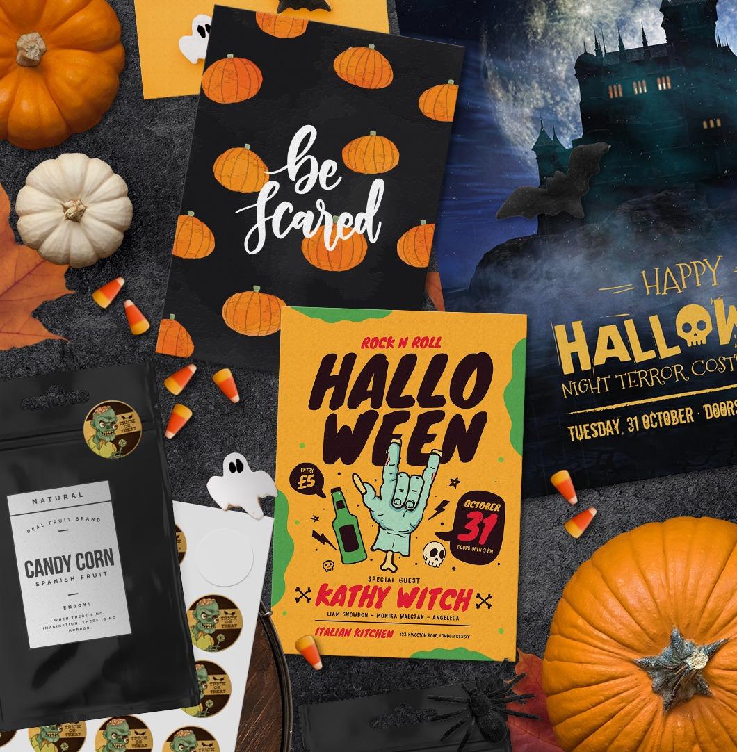 Halloween sale print