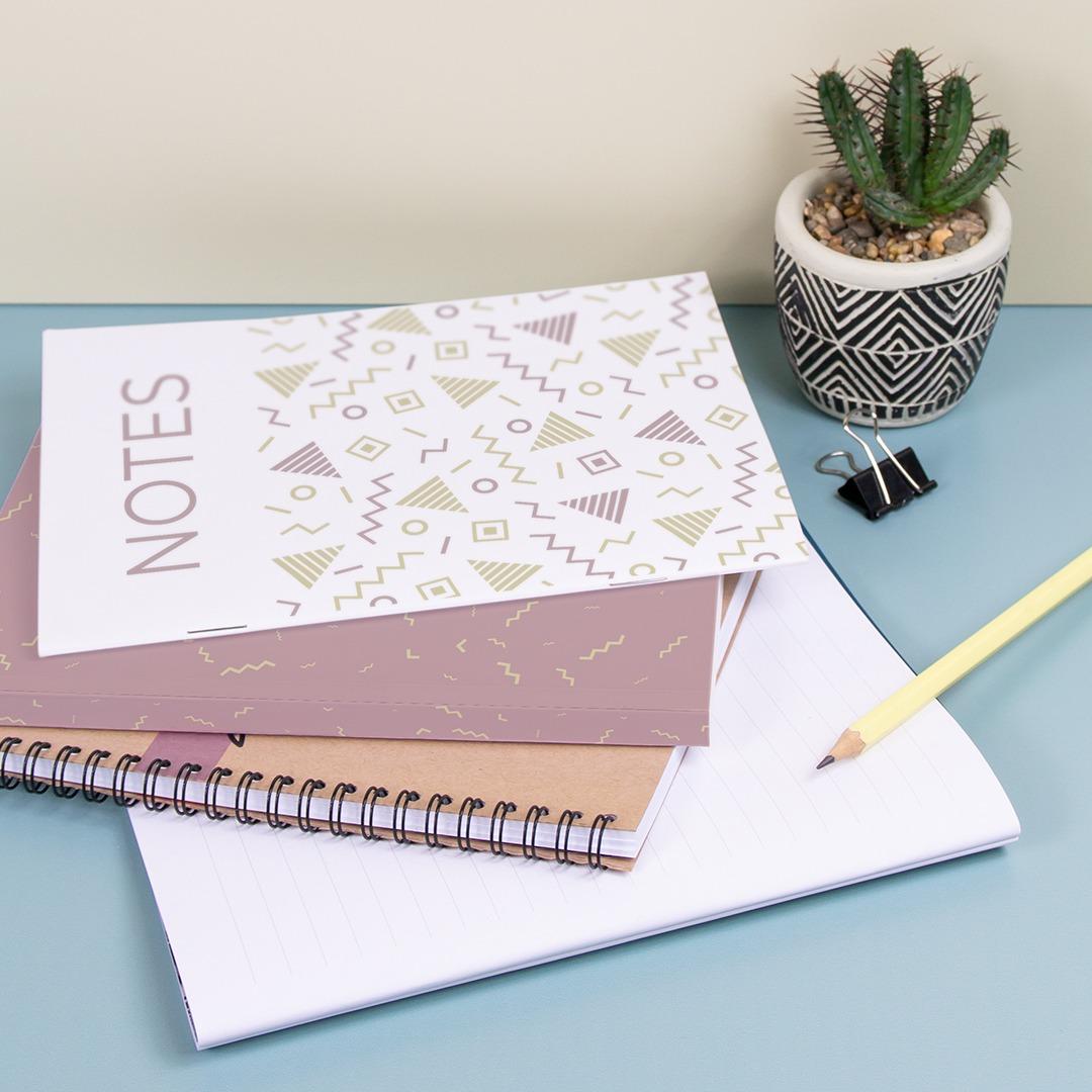 Print notebooks in various binding at printed.com