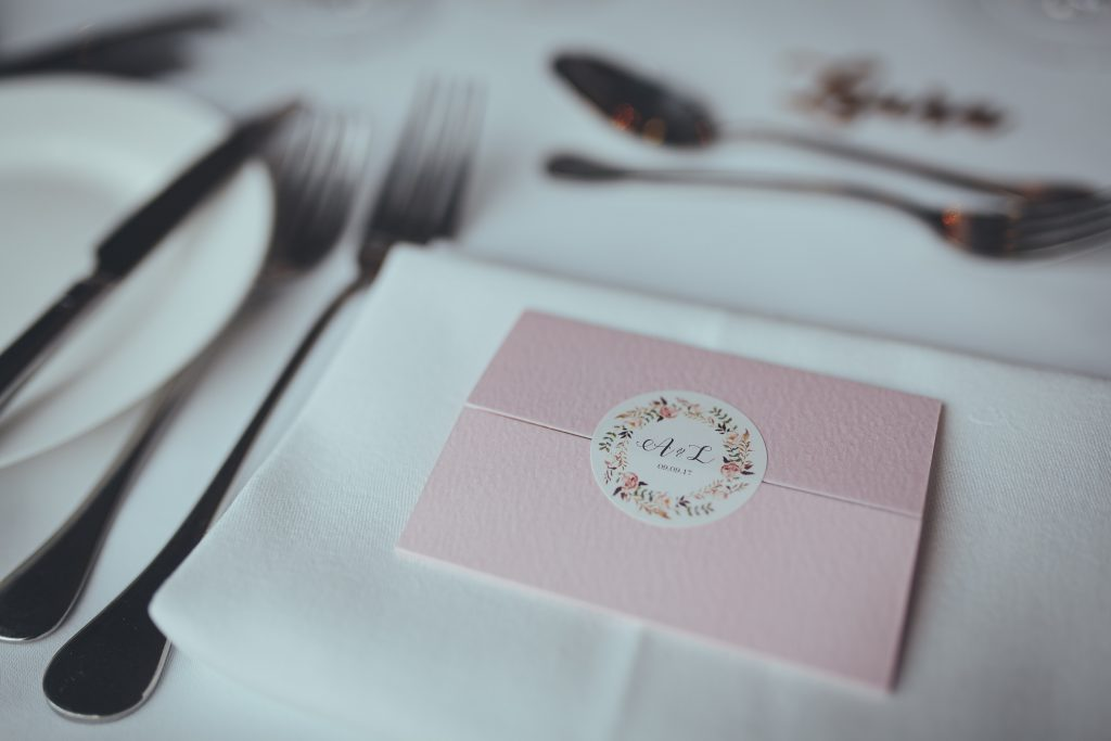 Lottery ticket DIY wedding favours