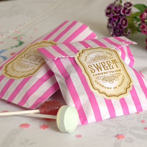 Wedding favours sweet bgs