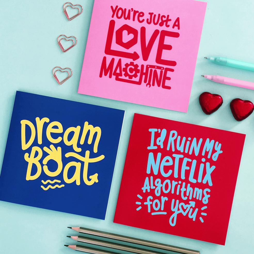 Netflix Valentine's Day Card