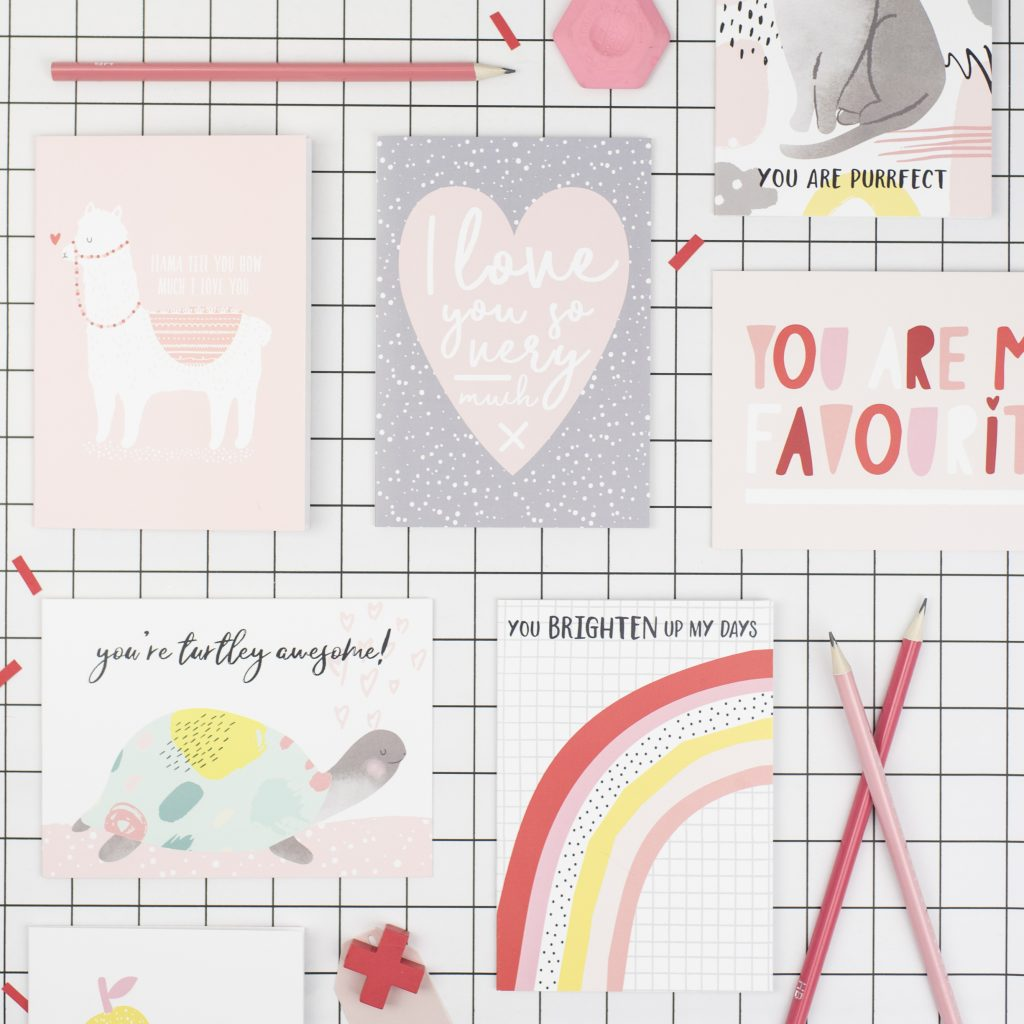 Fun valentines day cards, printed at Printed.com