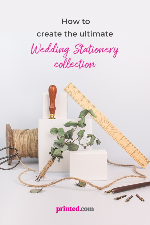 Create the ultimate wedding stationery at Printed.com