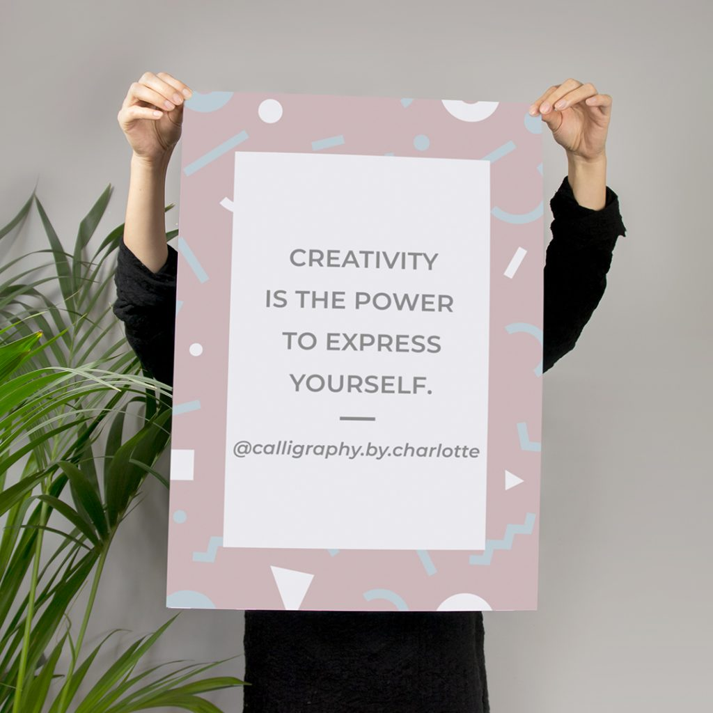 creativity is the power to express yourself