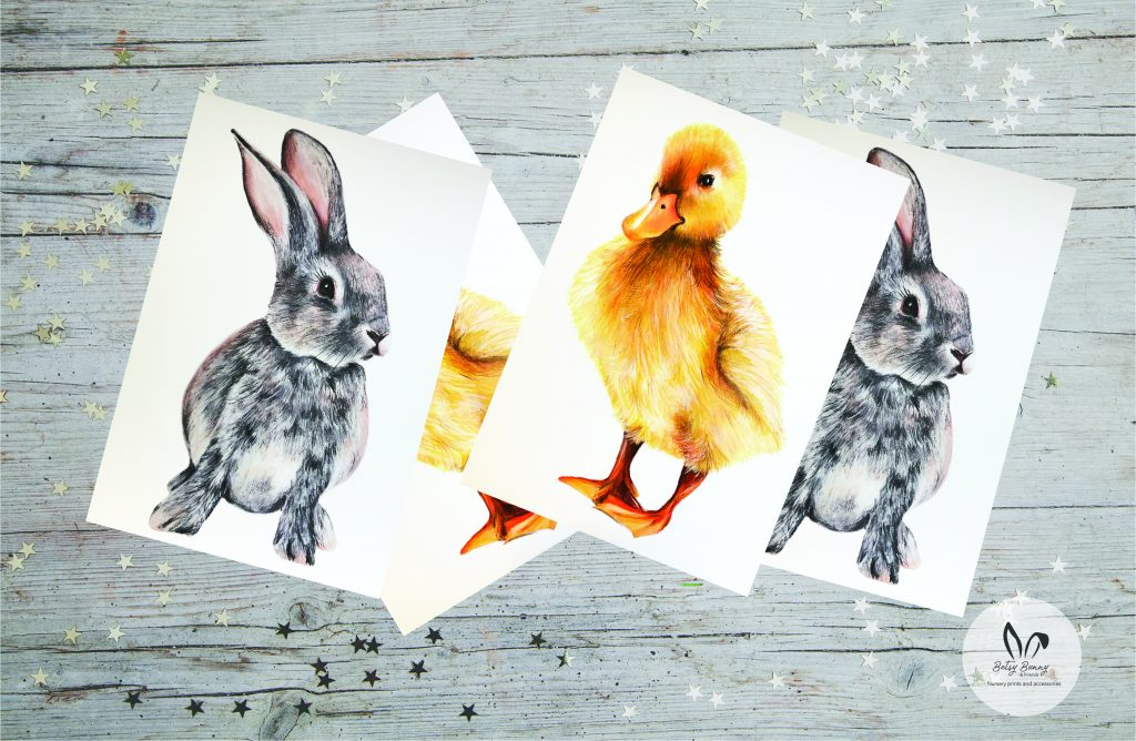 Image credit: Betsy Bunny and Friends proudly printed at printed.com - #ProudlyPrinted - The Easter Edition