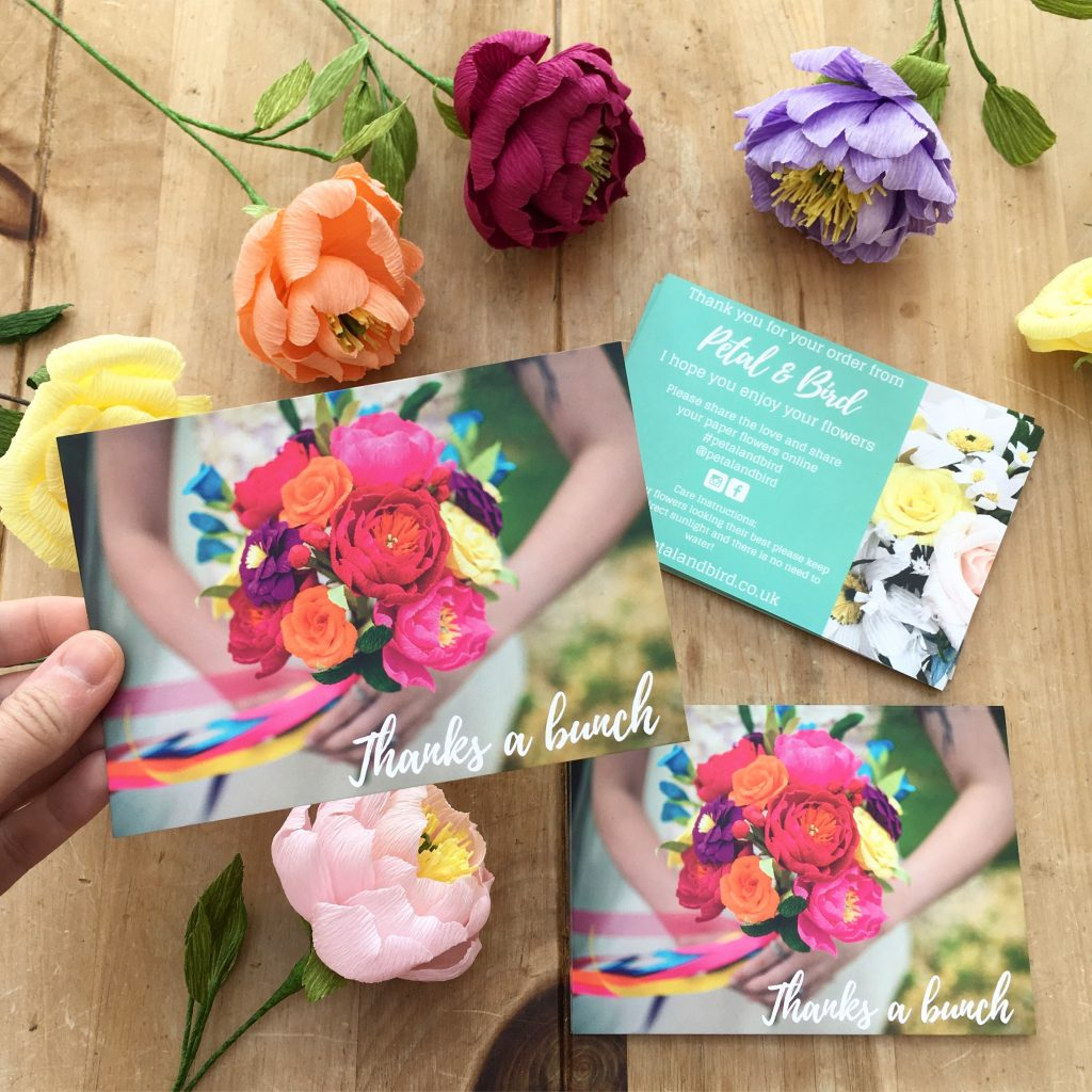 Image credit: Petal and Bird, printed by Printed.com
