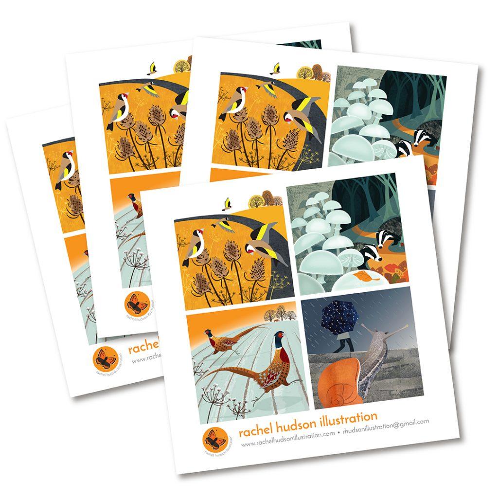 Promo cards printed by printed.com