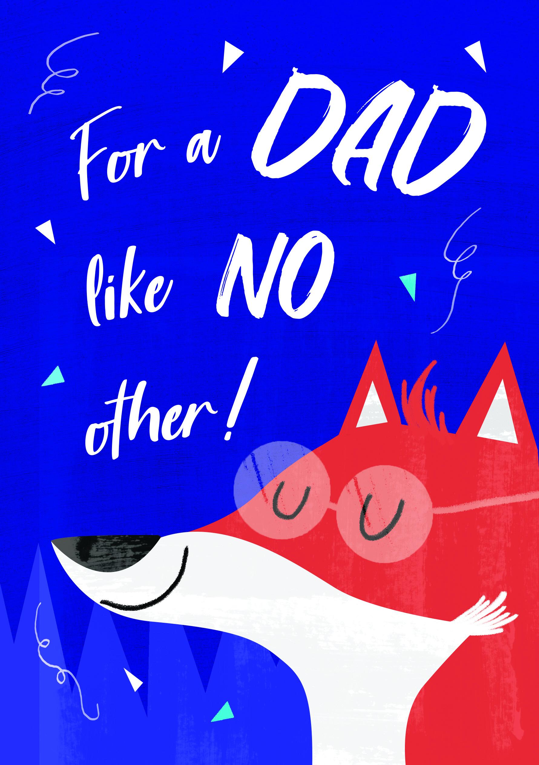 father's Day cards Lisa Parker Illustration