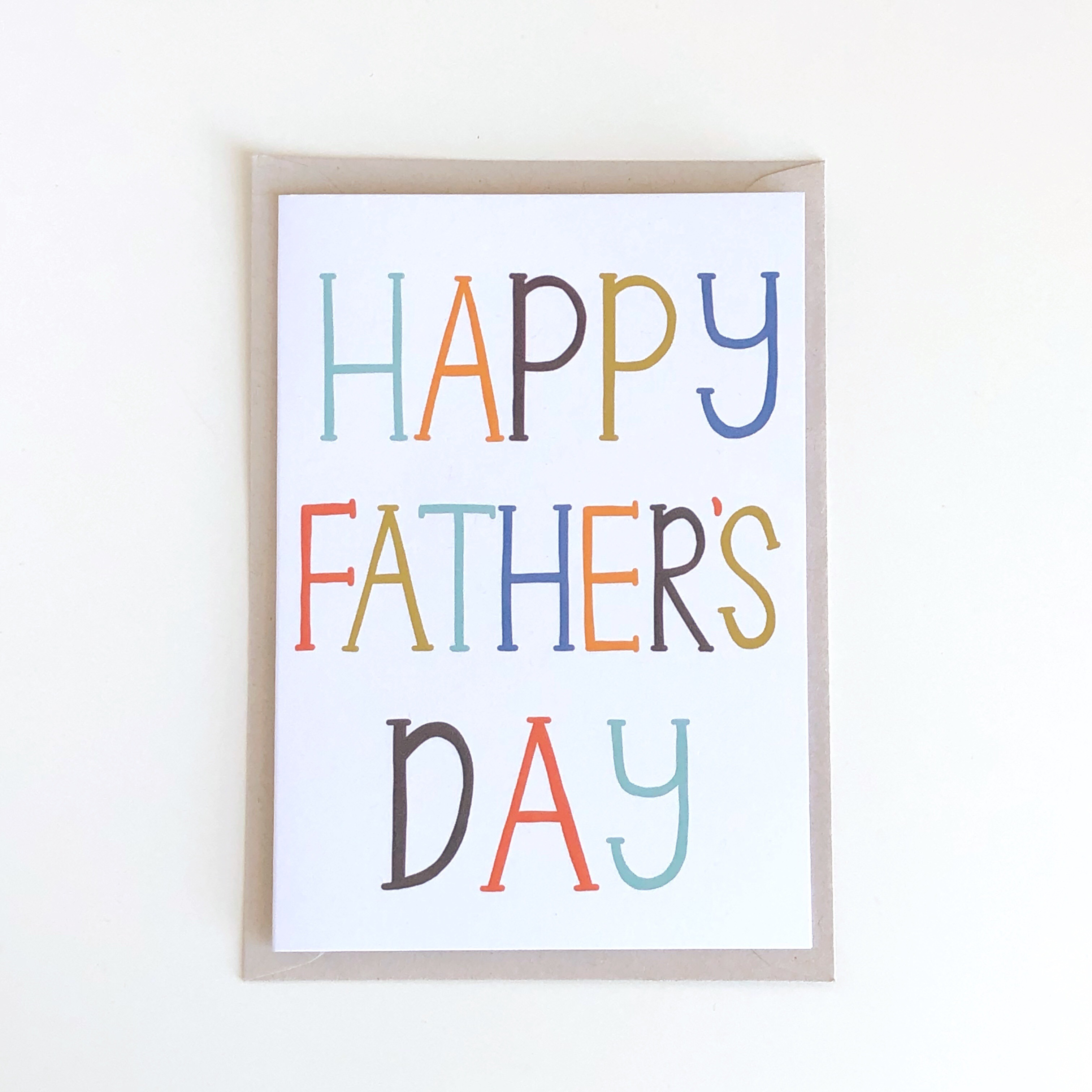 Father's Day card by Sarah Frances #ProudlyPrinted Father's Day