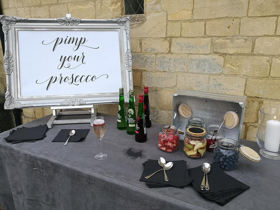 Customised wedding stationary