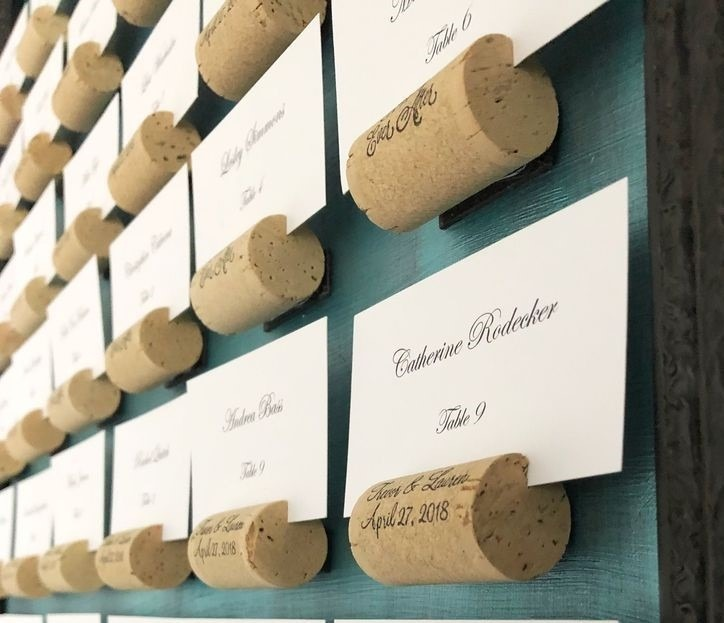 DIY Wedding Table Plan