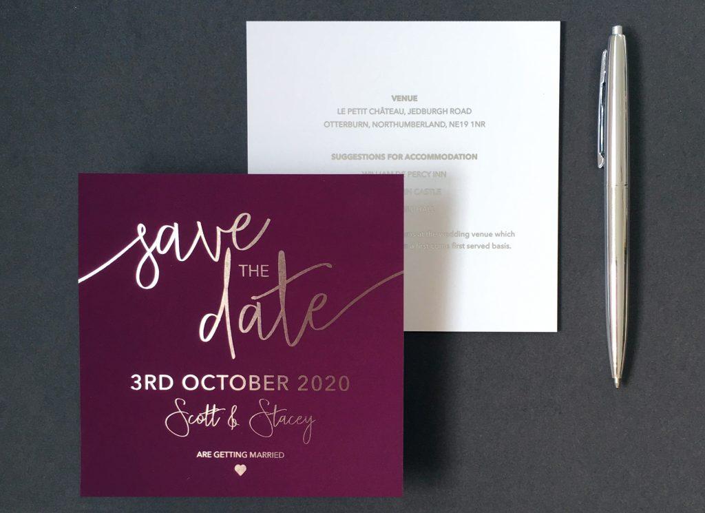 Victoria's Paperie Typography