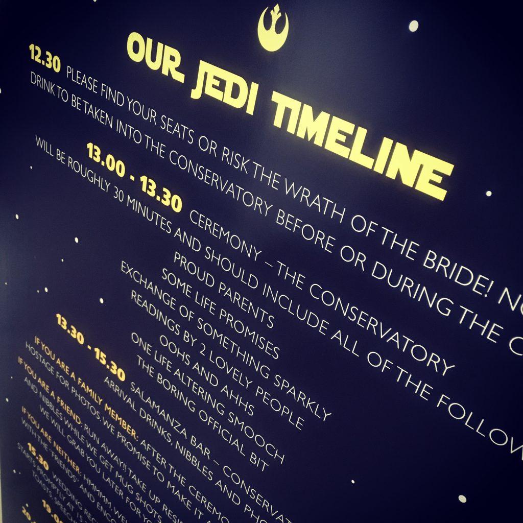 Star Wars Wedding Stationery