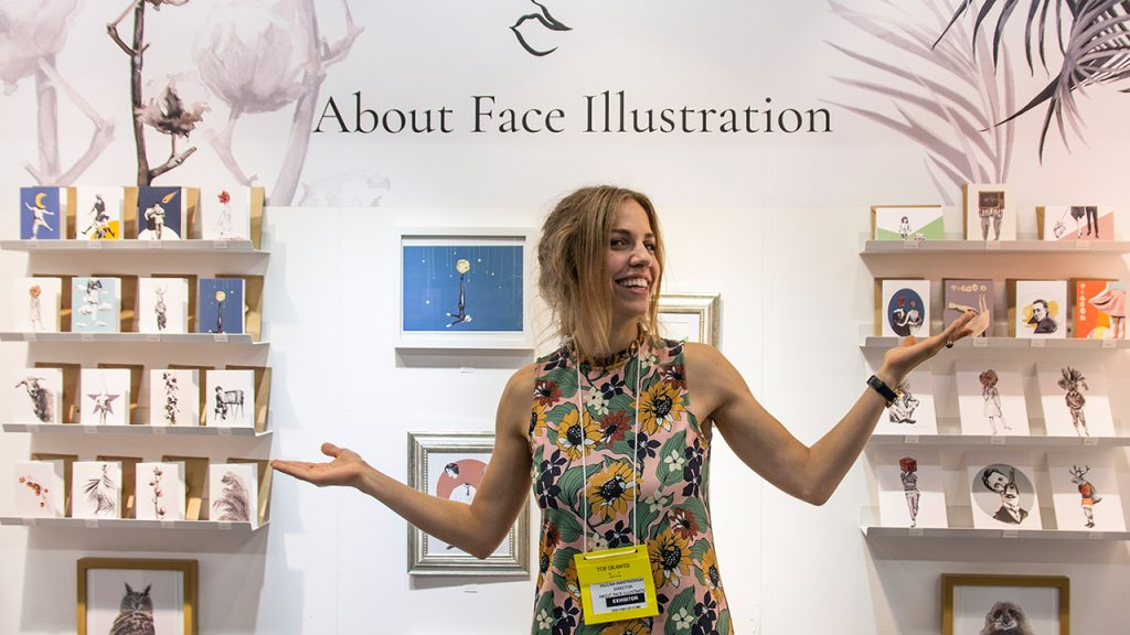 Top Drawer About Face Illustration