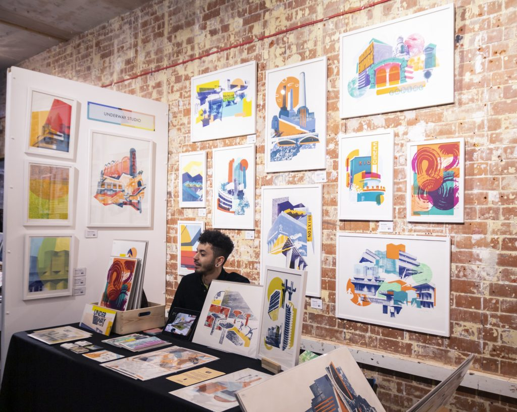 London Illustration Fair Underway Studio