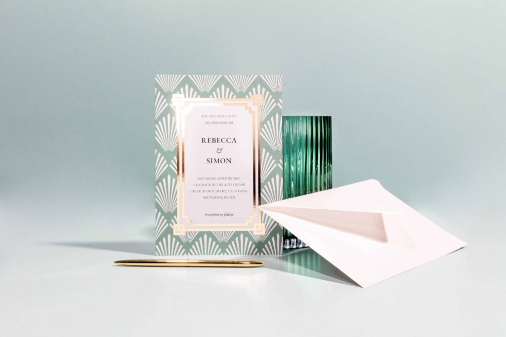 Download wedding invitation template