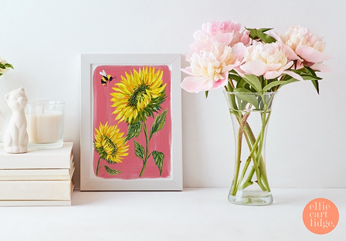 Ellie Cartlidge Summer Print