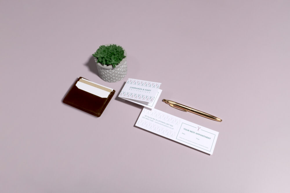 Make an appointment card