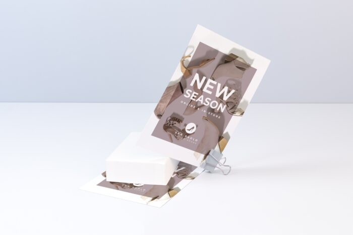 Leaflets as promos