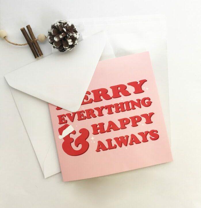 pink card designs