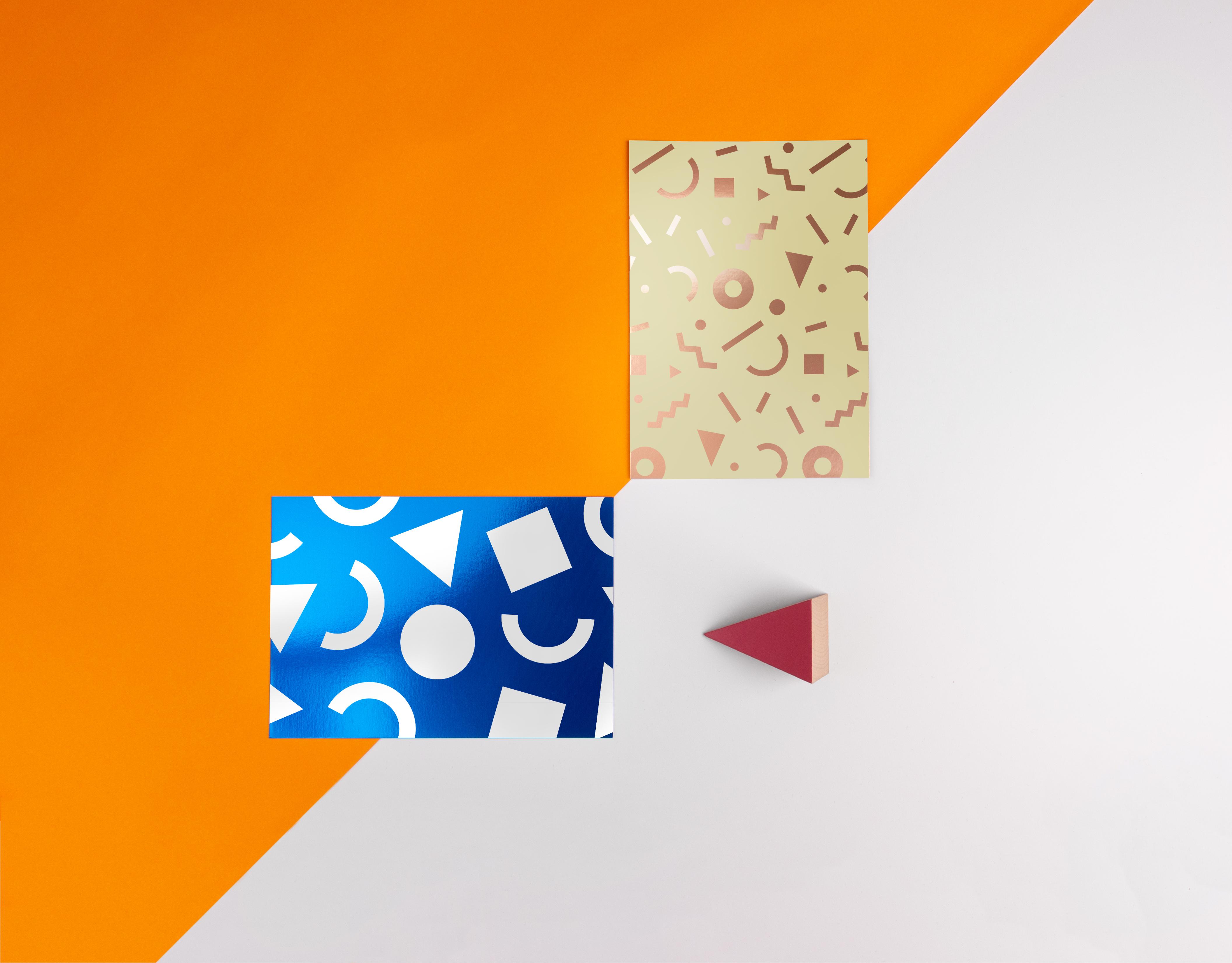 Foil print designs