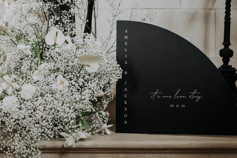die cut wedding print