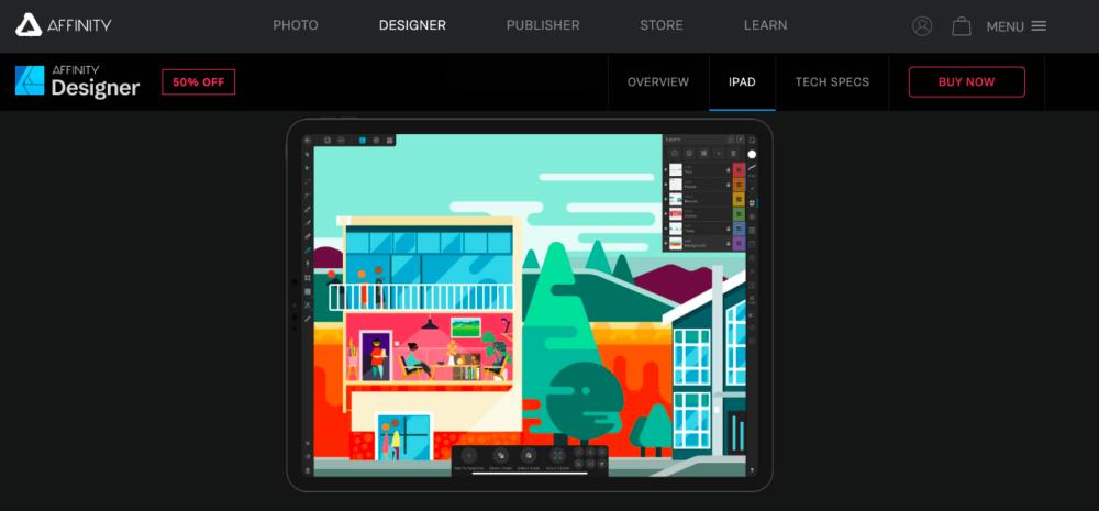Graphic design apps